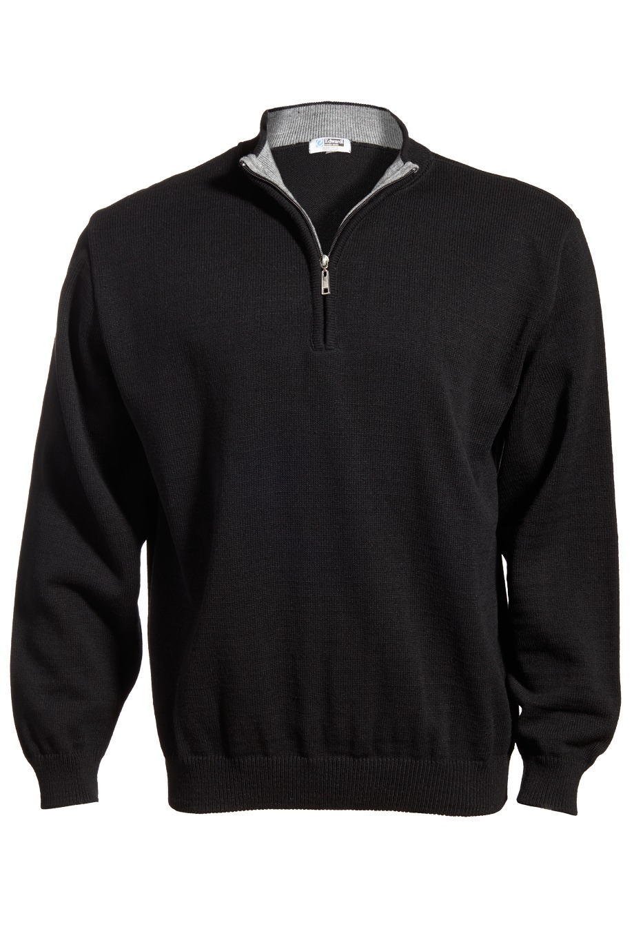 Edwards Garment 4012 - Men's Quarter-Zip Acrylic Sweater