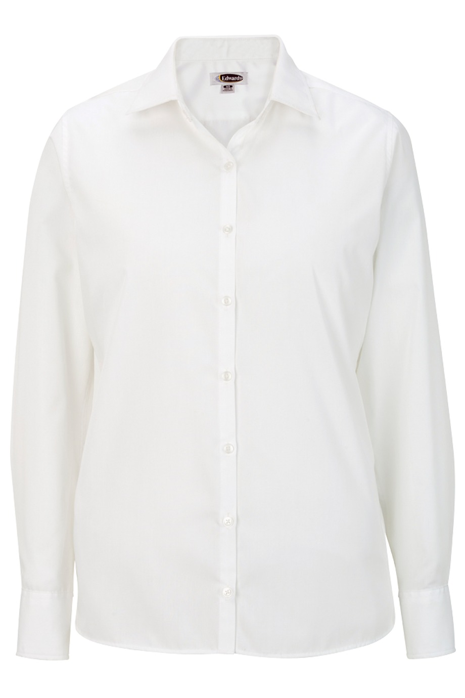 Edwards Garment 5273 - Ladies Poplin LongSleeve Shirt