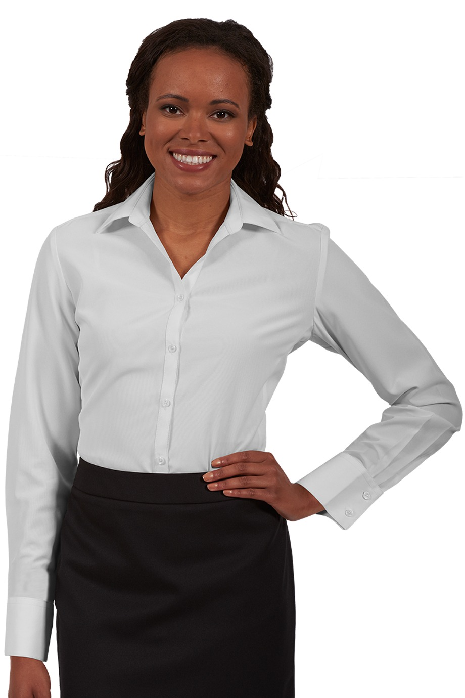 Edwards Garment 5293 - Batiste Long Sleeve Blouse