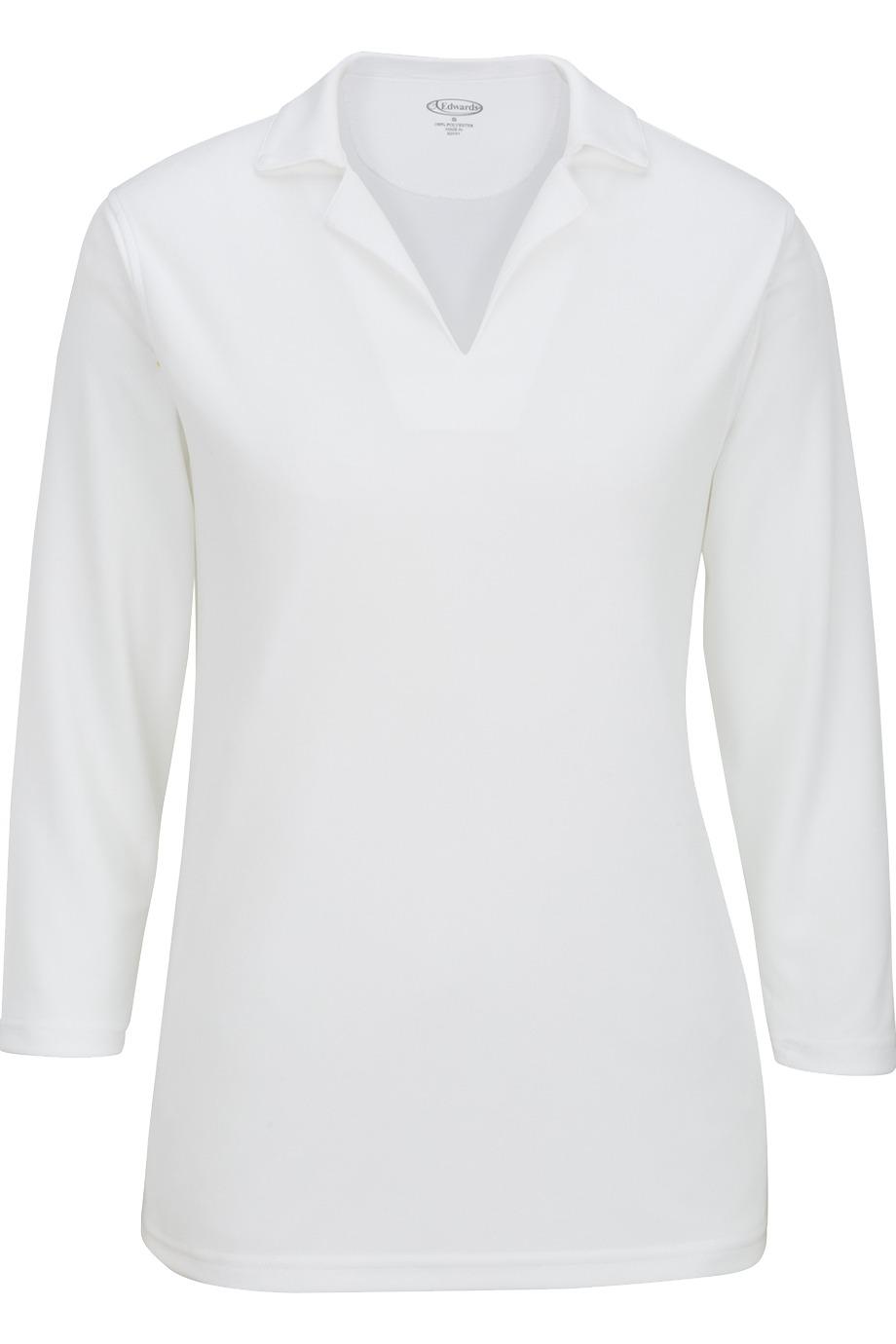 Edwards Garment 5581 - Ladies' 3/4 Sleeve Flat-Knit