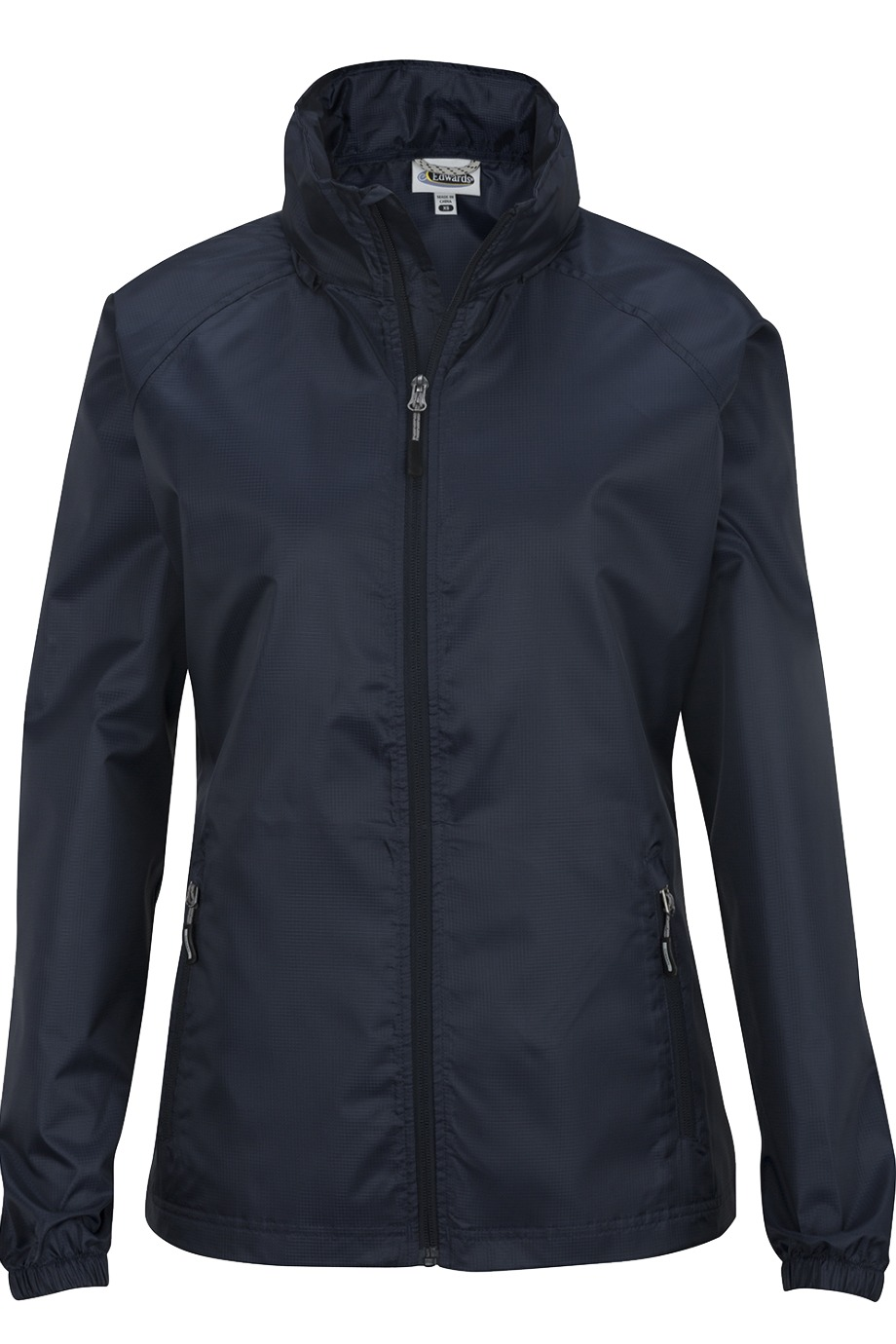 Edwards Garment 6435 - Ladies' Hooded Rain Jacket