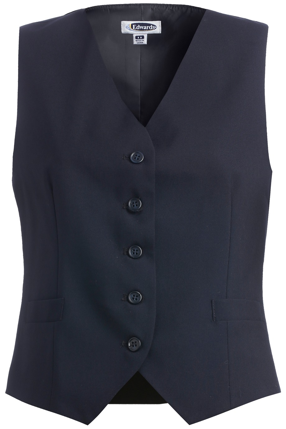 Edwards Garment 7680 - High Button Vest