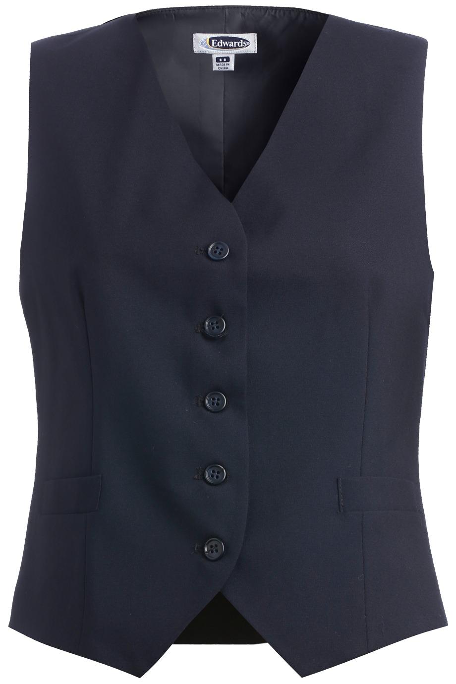 Edwards Garment 7680 - High Button Vest