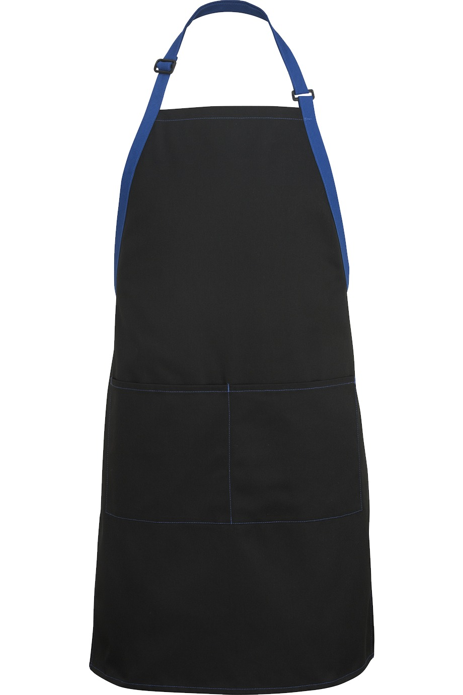 Edwards Garment 9028 - Bib Apron-Color Blocked