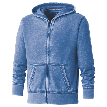 Elevate TM18118 - Burnout Fleece Full Zip Hoody