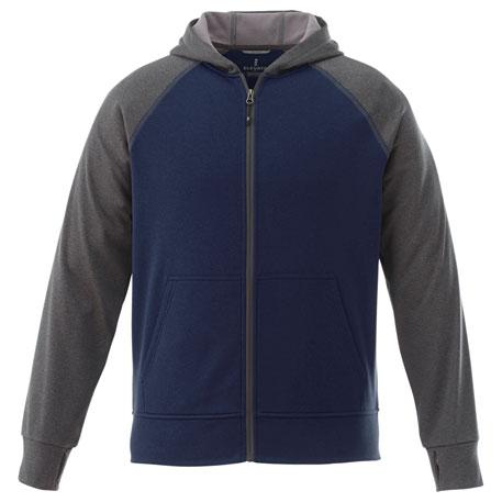 Elevate TM18131 - Men's Anshi Knit Full Zip Hoody
