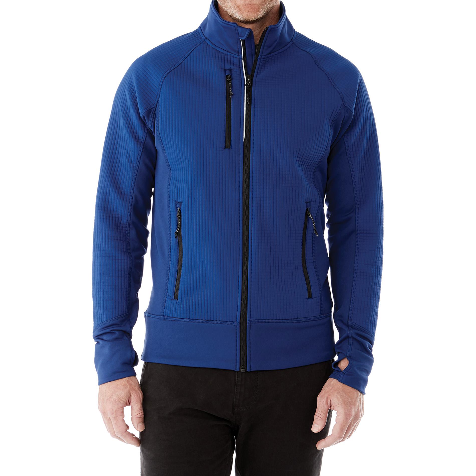 Elevate TM18153 - Men's PANORAMA Hybrid Knit Jacket