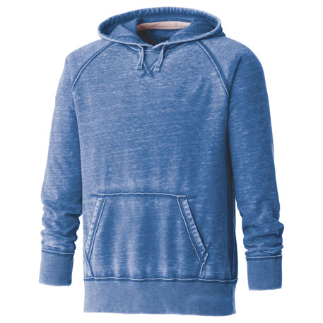 Elevate TM18403 - Burnout Fleece Kanga Hoody