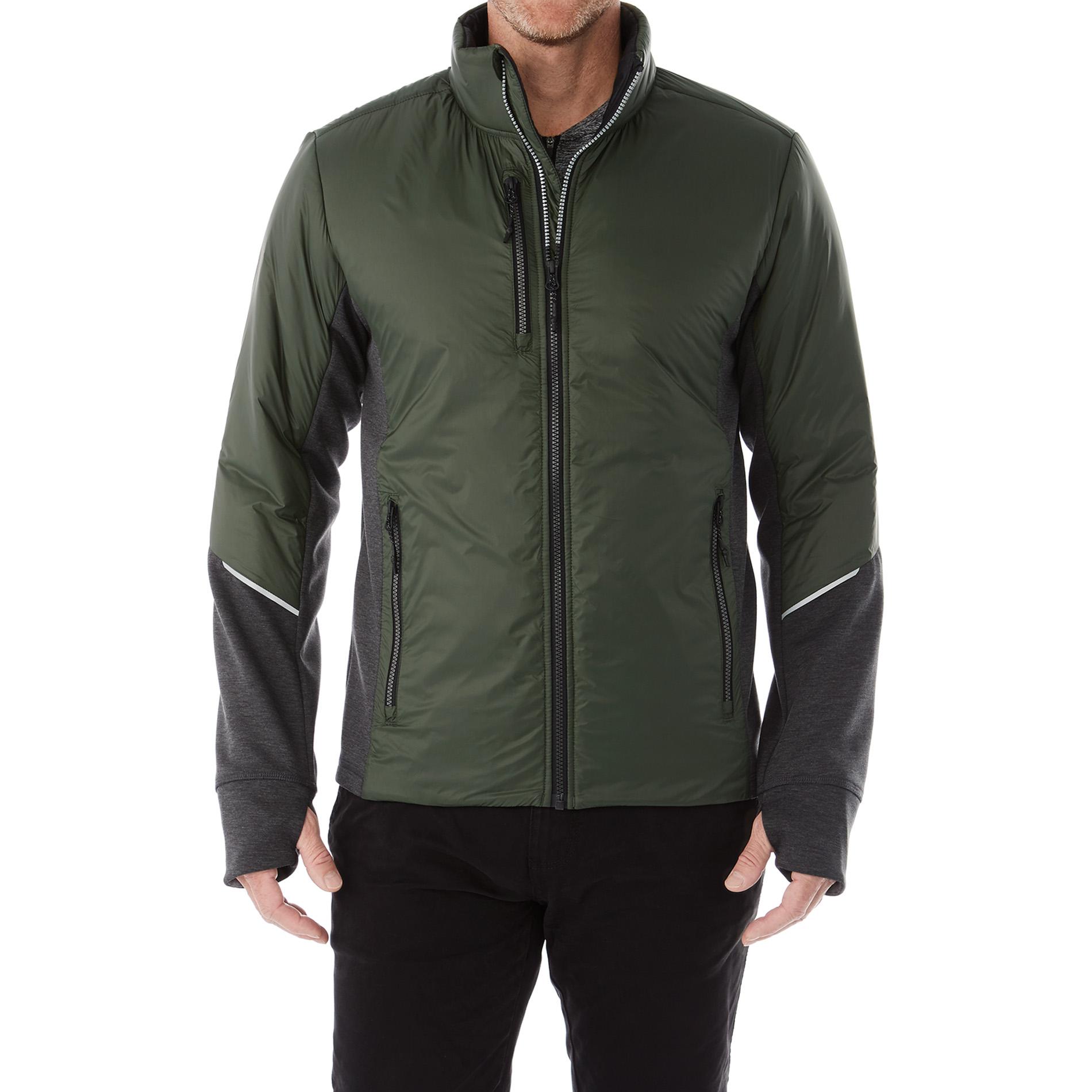 Elevate TM19555 - Men's FERNIE Hybrid Insulated Jacket