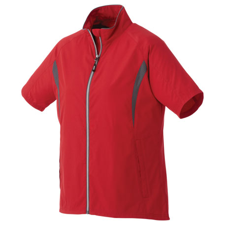 Elevate TM92801 - Women's Powell SS Full Zip Wind Jacket