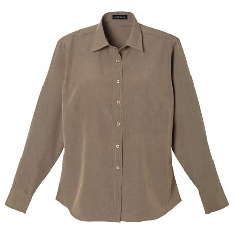 Elevate TM97642 - Women's Mini Houndstooth Shirt