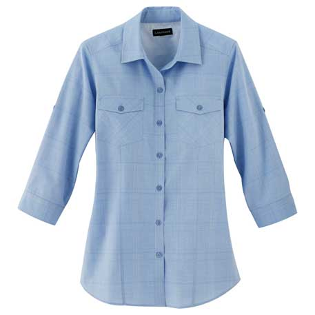 Elevate TM97651 - Women's Ralston 3/4 Sleeve Shirt
