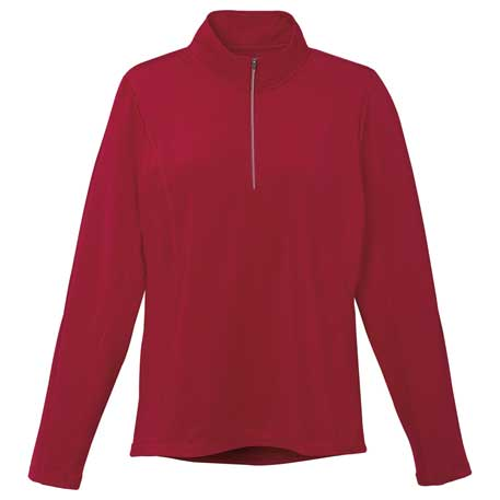 Elevate TM97807 - Women's Caltech Knit Quarter Zip