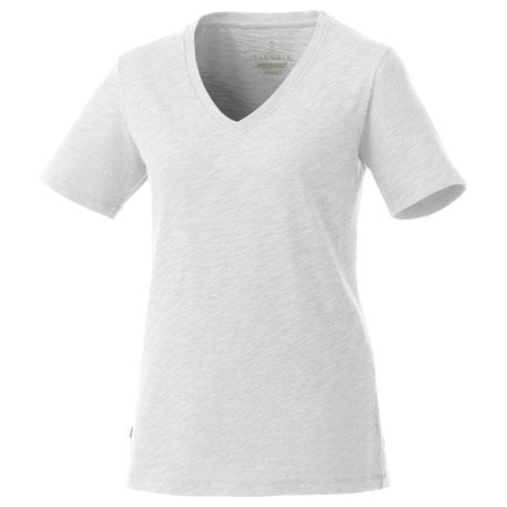 Elevate TM97896 女士短袖V领休闲运动 T恤