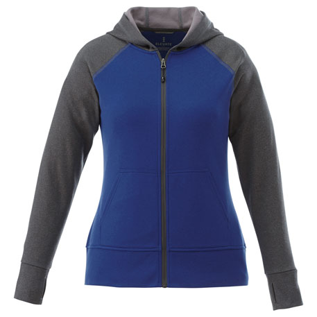 Elevate TM98131 - Women's Anshi Knit Full Zip Hoody