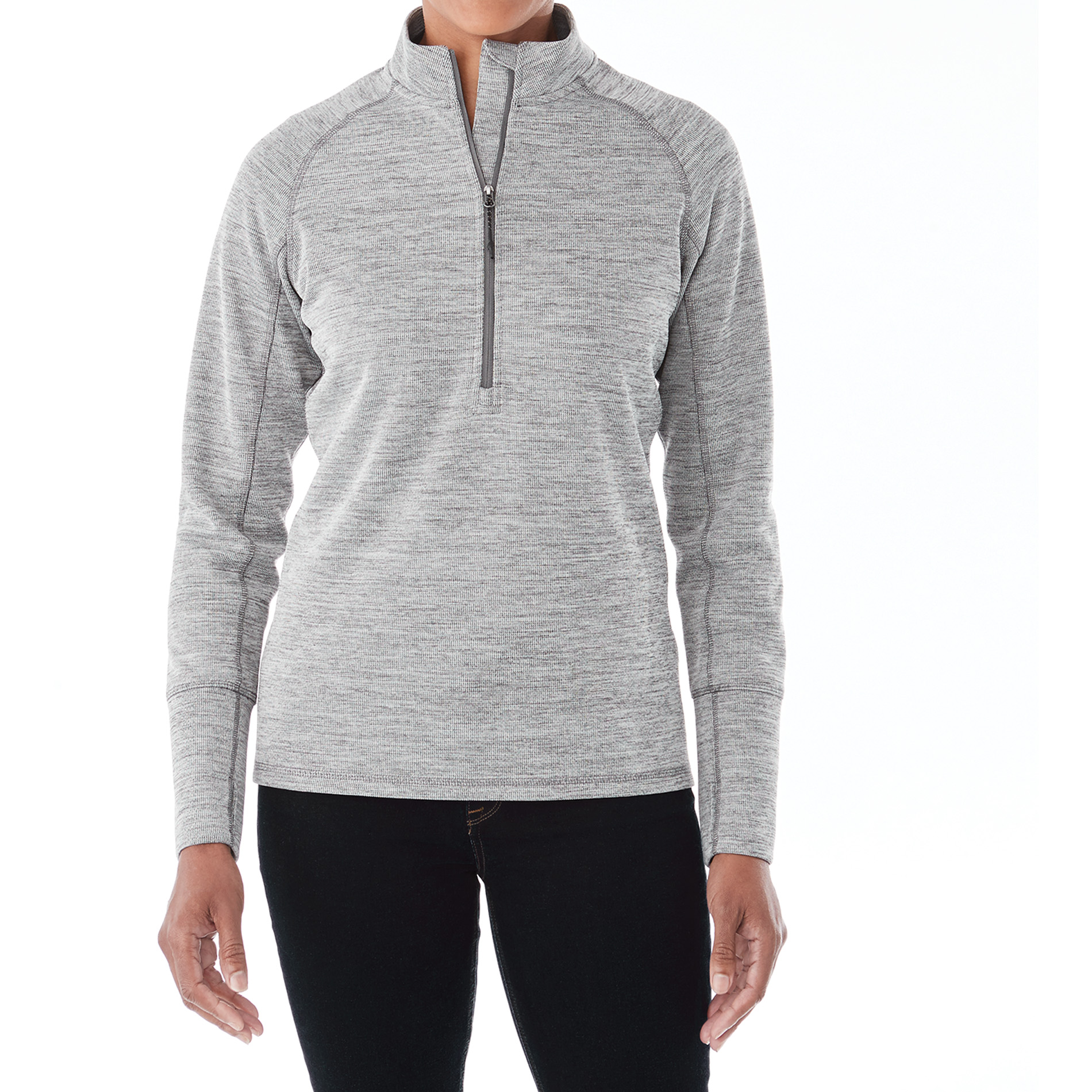 Elevate TM98305 - Women's CRANE Knit Half Zip