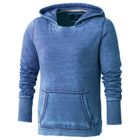 Elevate TM98403 - Women's Burnout Fleece Kanga Hoody