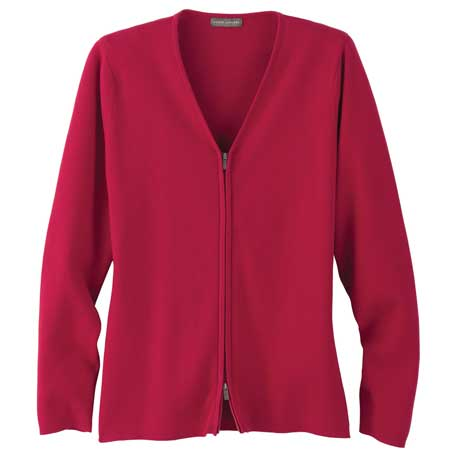 Elevate TM98605 - Women's Varna Full Zip Sweater
