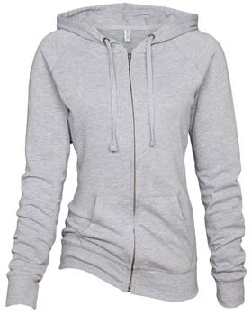 Enza 09279 - Ladies Campus Fleece Full Zip Hoodie