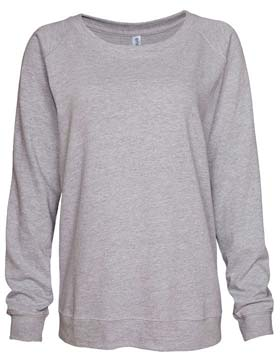 Enza 09579 - Ladies Campus Fleece Slouchy Crew