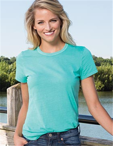 Enza 10279 - Ladies Chalk Crew Neck Tee