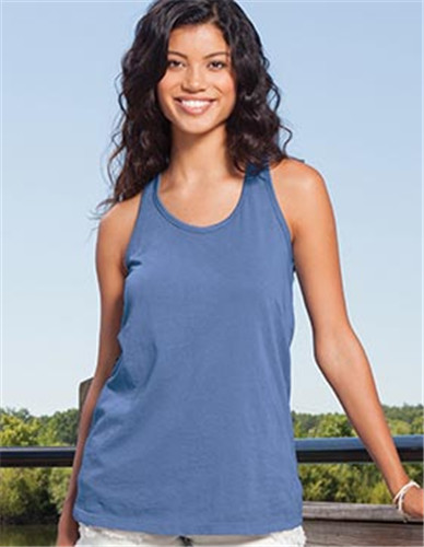 Enza 10479 - Ladies Chalk Flowy Tank