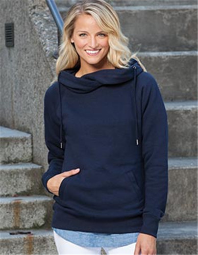 Enza 32979 - Ladies Classic Fleece Funnel Neck Pullover ...