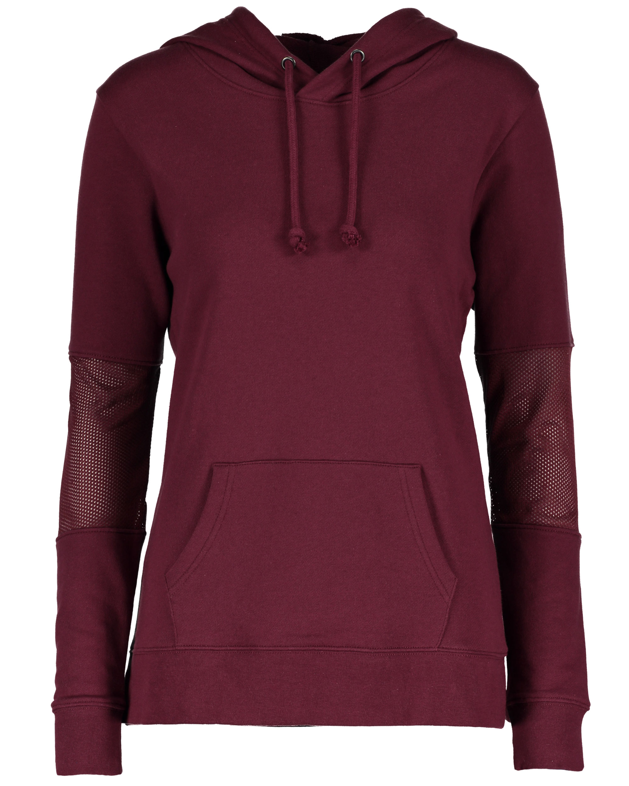 Enza 36779 - Ladies Pullover Hood with Mesh Inset on Sleeve