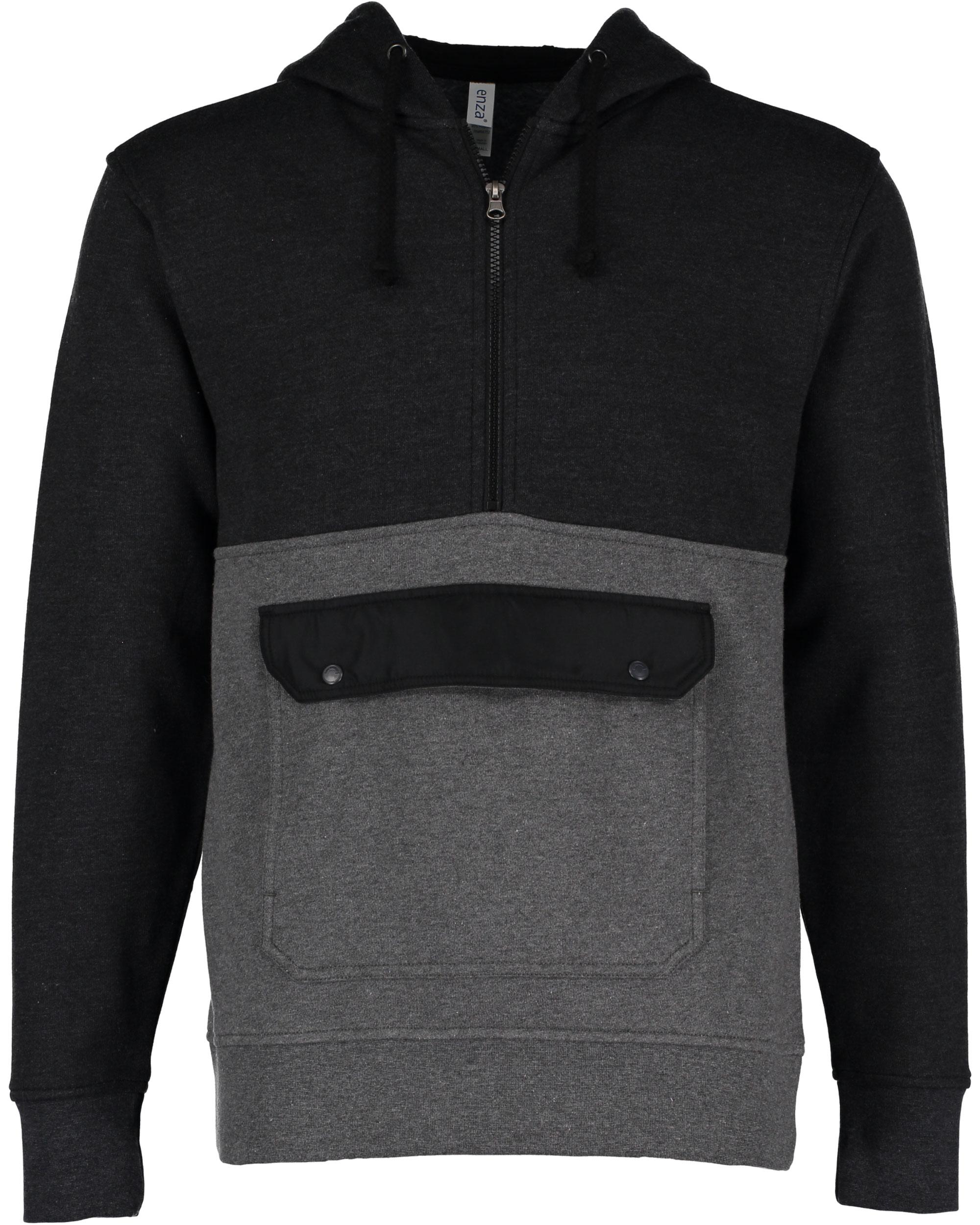 Enza 39979 - Unisex Half Zip Pullover Hood