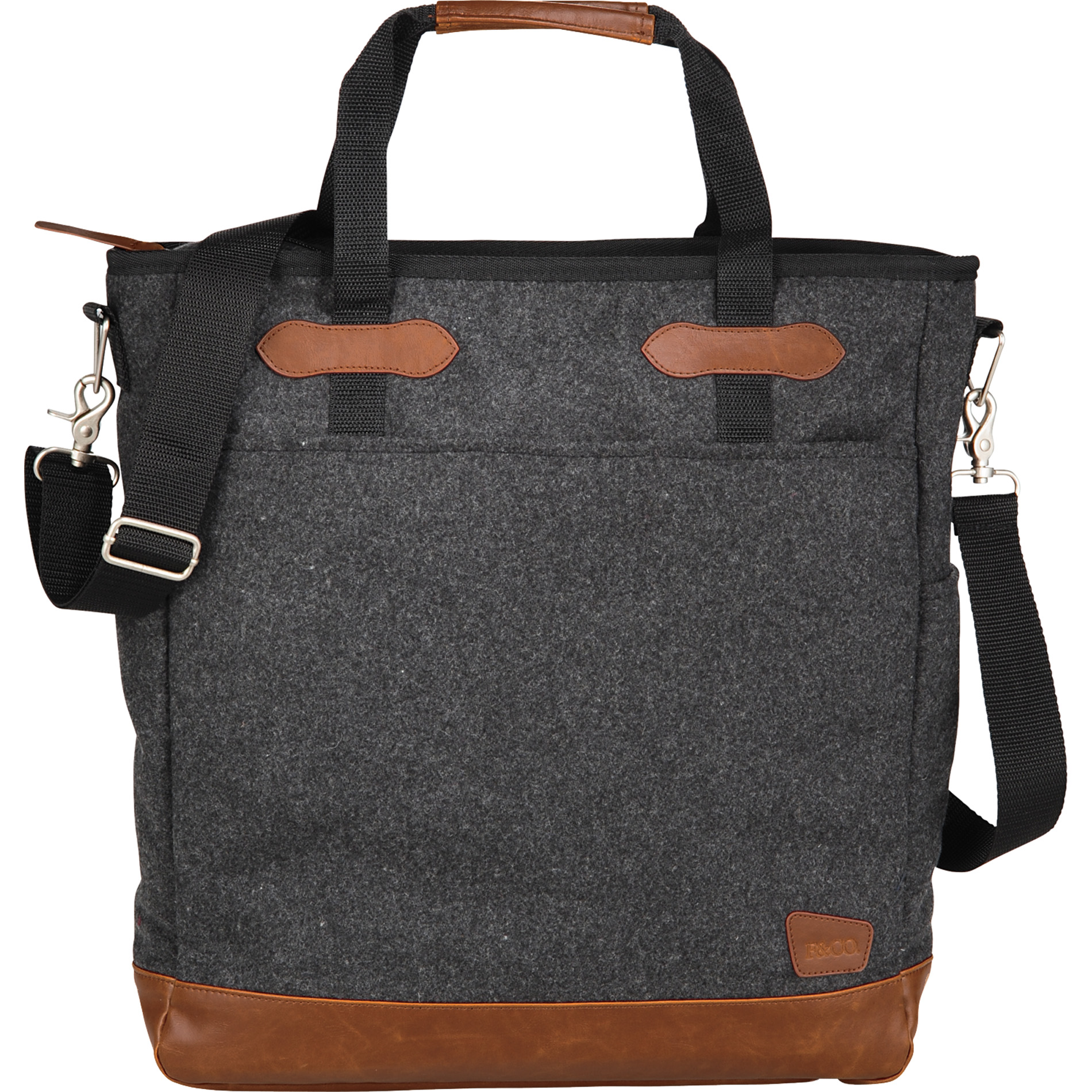 "Field & Co.® 7950-86 - Campster Wool 15"" Computer Tote"