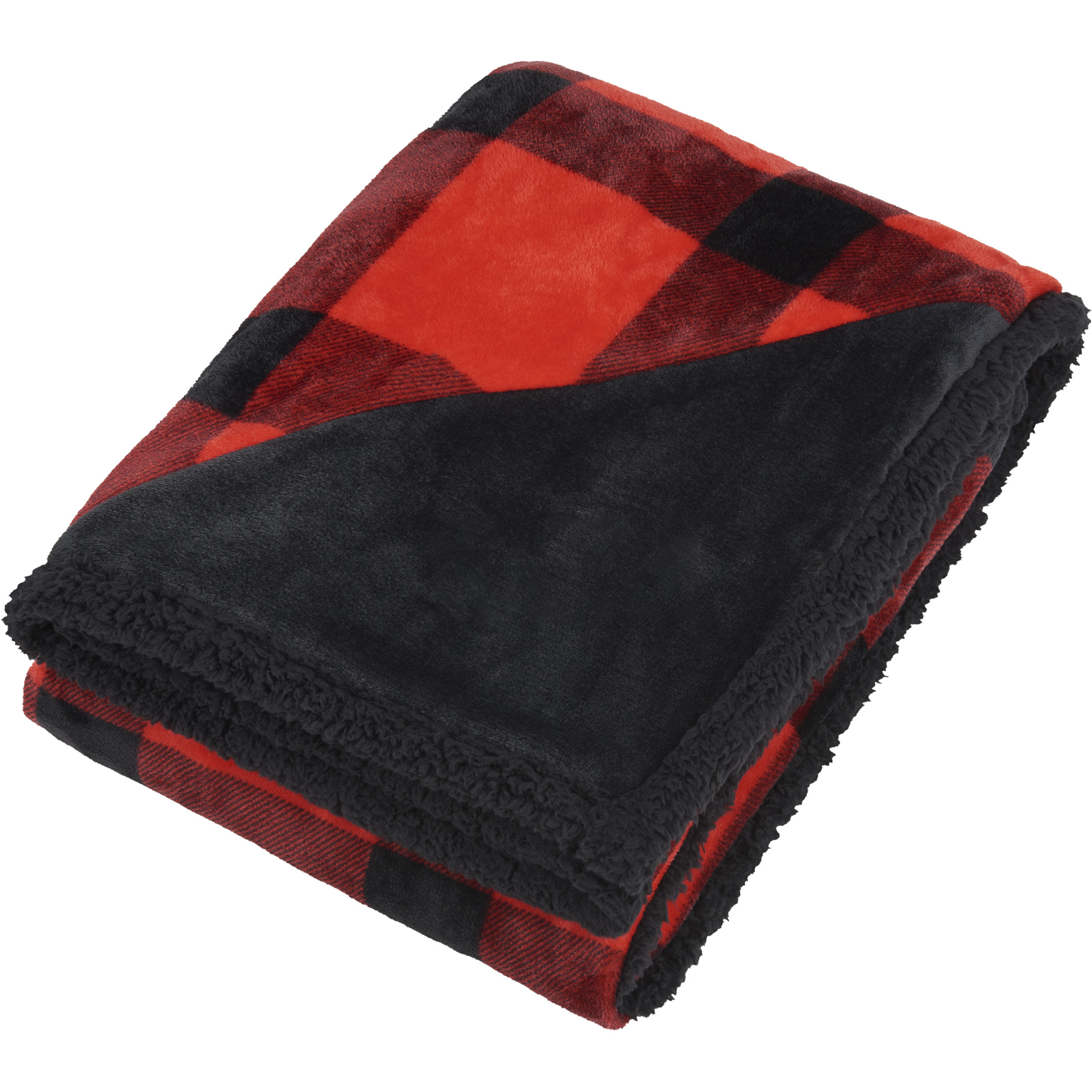 Field & Co. 1081-51 - Buffalo Plaid Sherpa Blanket