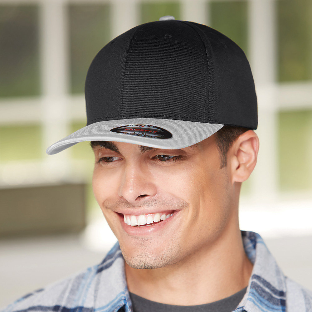 Flexfit 6277T - Wool Combed 2-Tone Cap