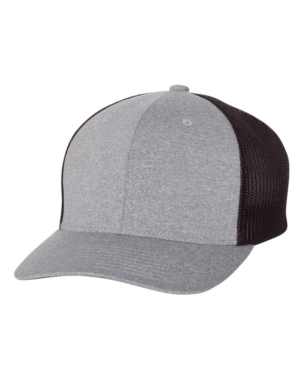 Flexfit 6311 - Melange Trucker Mesh Cap