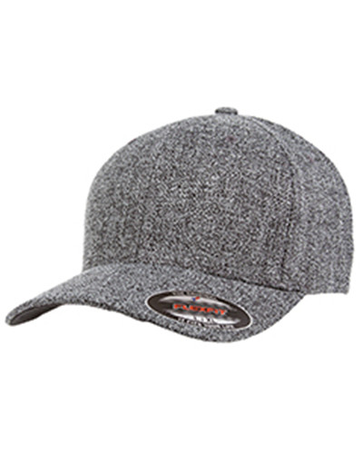Flexfit 6355 - Adult Poly Melange Heather Stretch Cap