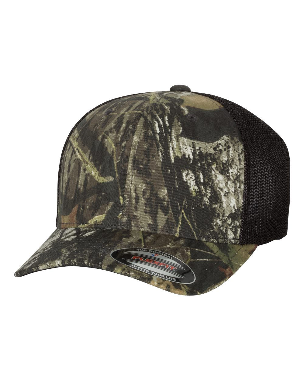 Flexfit 6911 - Mossy Oak Stretch Mesh Cap