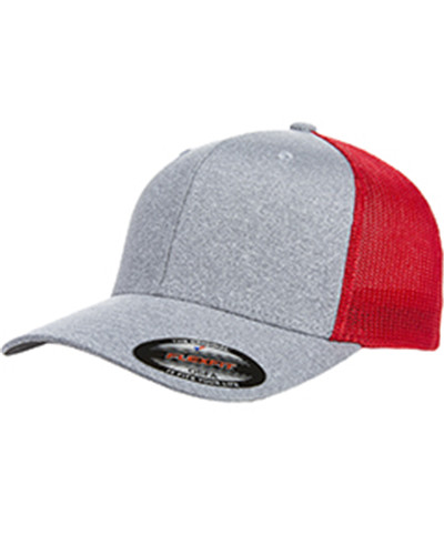 Flexfit Y6311 - Adult Poly Melange Stretch Mesh Cap