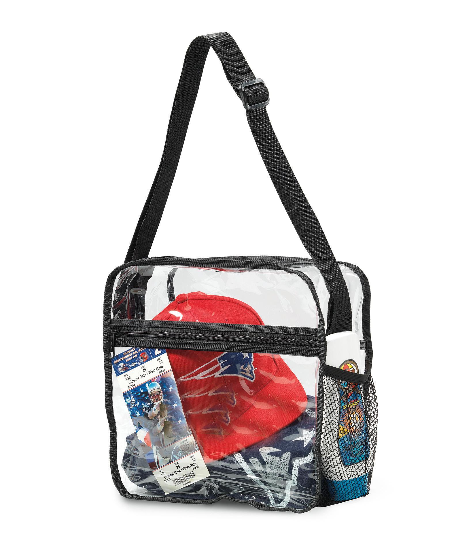 Gemline 2208 - Clear Event Messenger Bag
