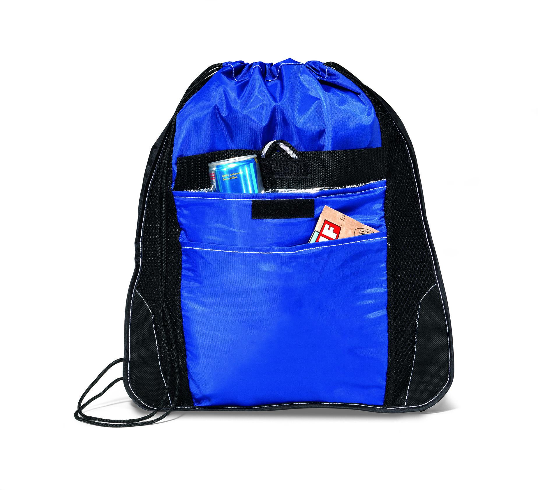 Gemline 4075 - Elite Sport Cinchpack with Insulated Pocket