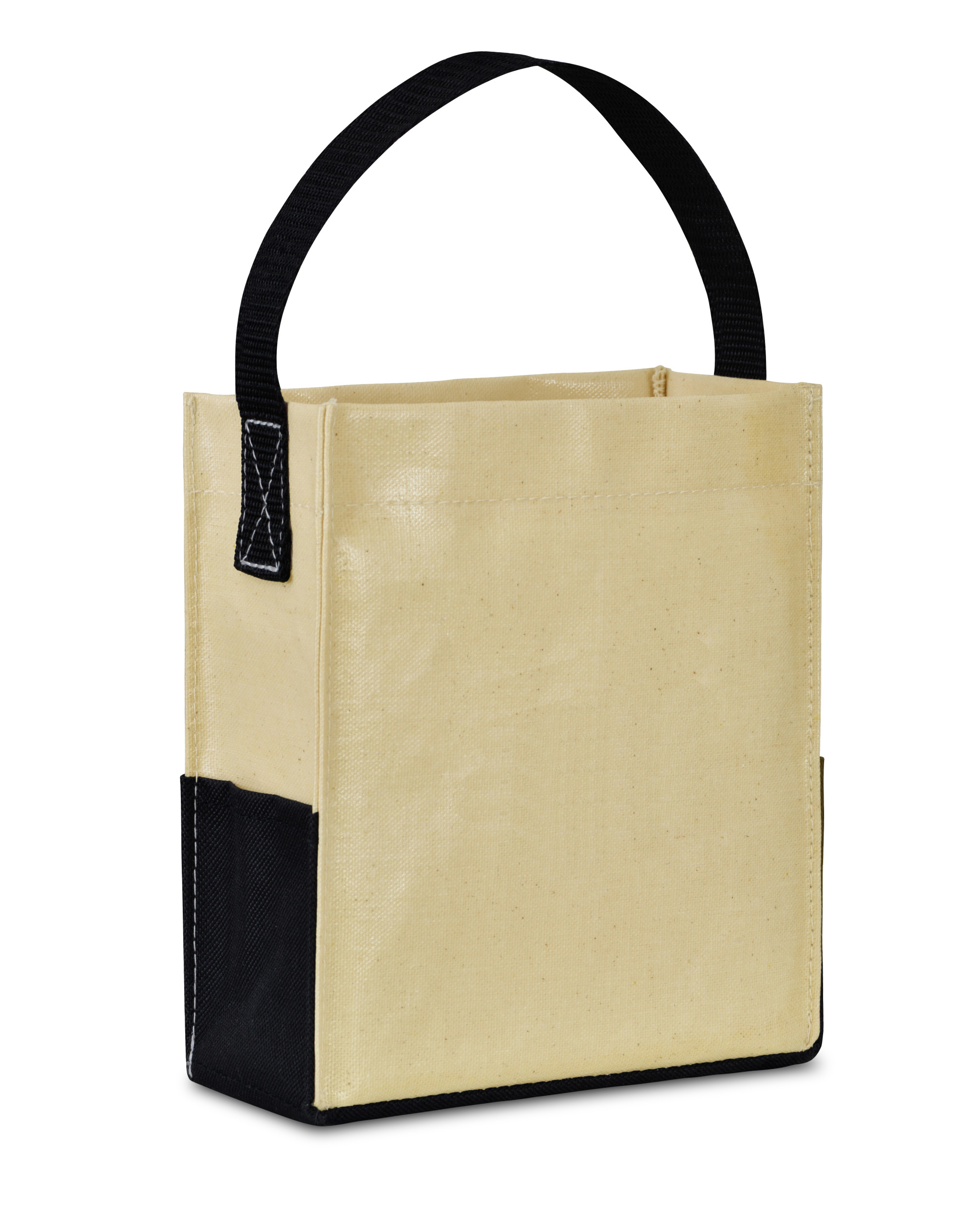 Gemline 100113-101 - Kali Coated Cotton Mini Tote