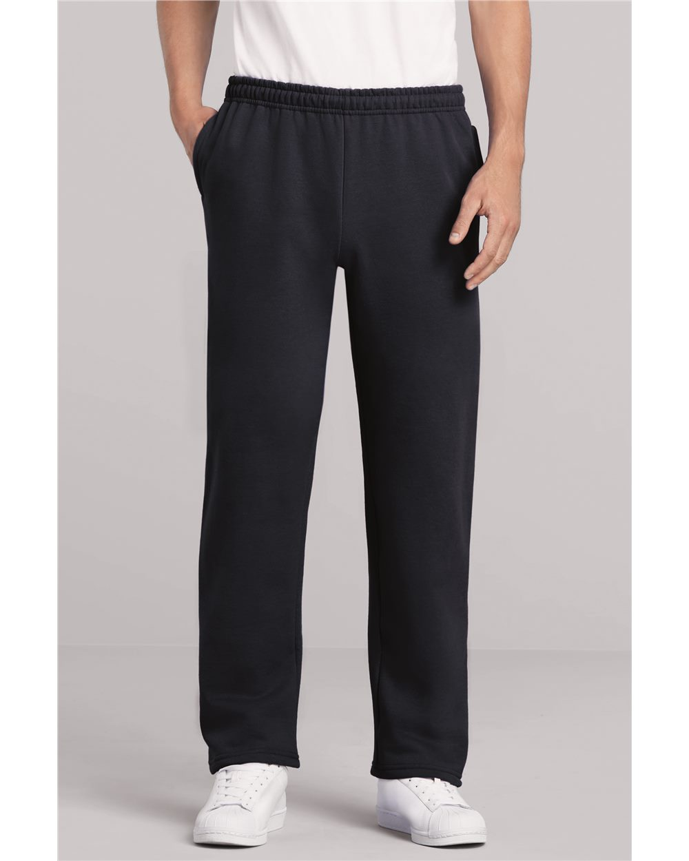 Gildan 18300 - Heavy Blend Open Bottom Sweatpants with Pockets