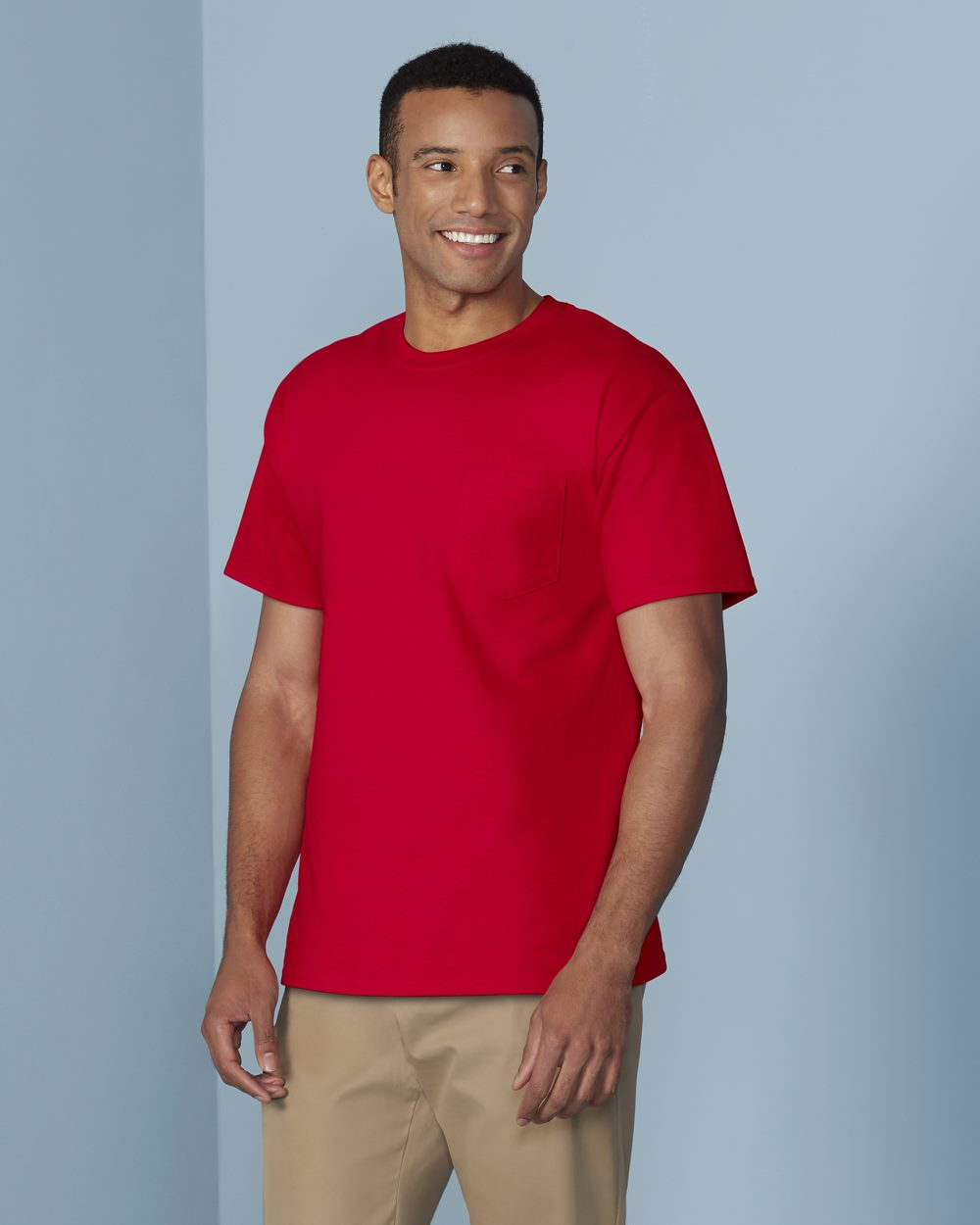 Gildan 5300 - Heavy Cotton T-Shirt with a Pocket