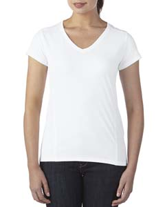 Gildan G47V - Ladies' Tech Short Sleeve V Neck
