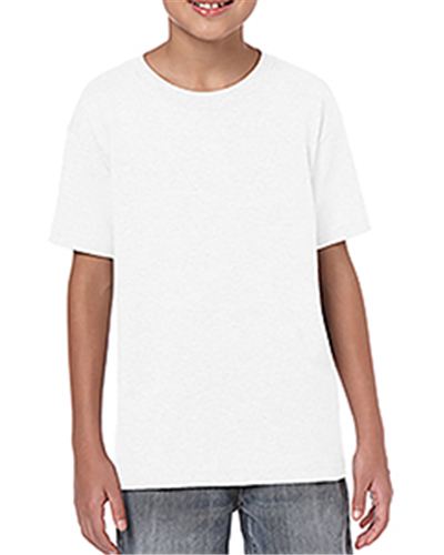Gildan G645B - Youth Softstyle® 4.5 oz T-Shirt