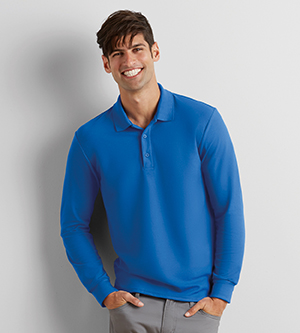 GILDAN G72900 - DRYBLEND ADULT DOUBLE PIQUE LONG SLEEVE ...