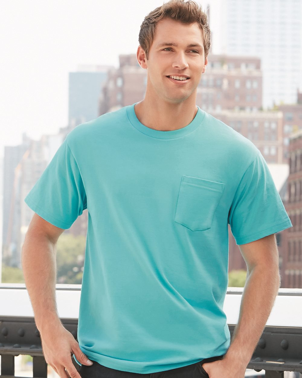 Gildan H300 - Hammer Short Sleeve T-Shirt with a Pocket