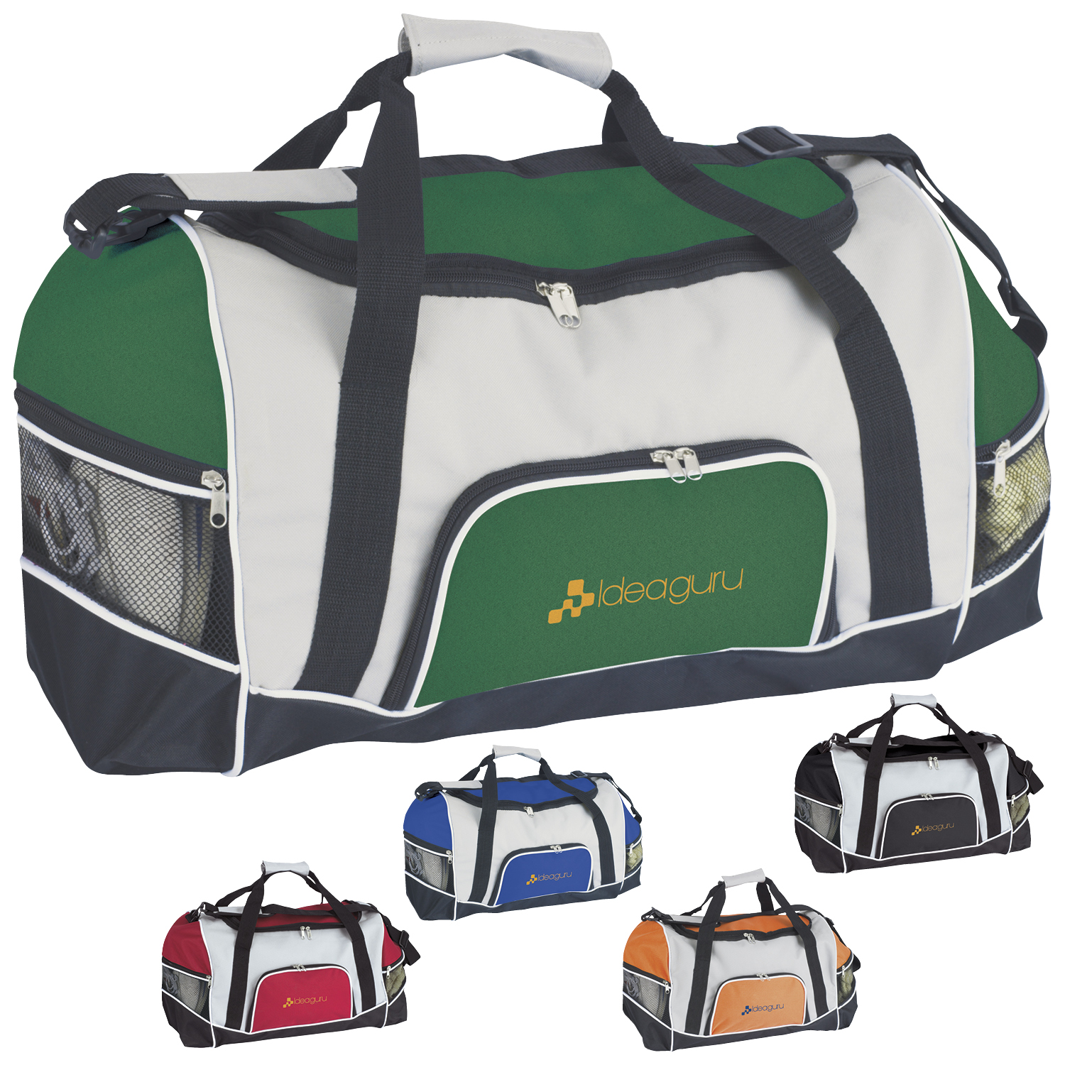 Good Value® 15507 Tri-Pocket Sport Duffel