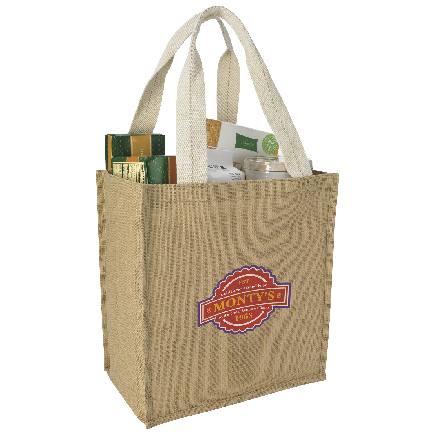 Good Value® 15655 Jute Grocery Tote