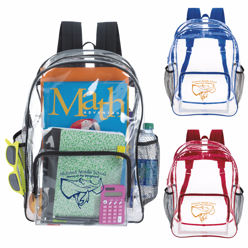 Good Value® 15763 Clear Backpack