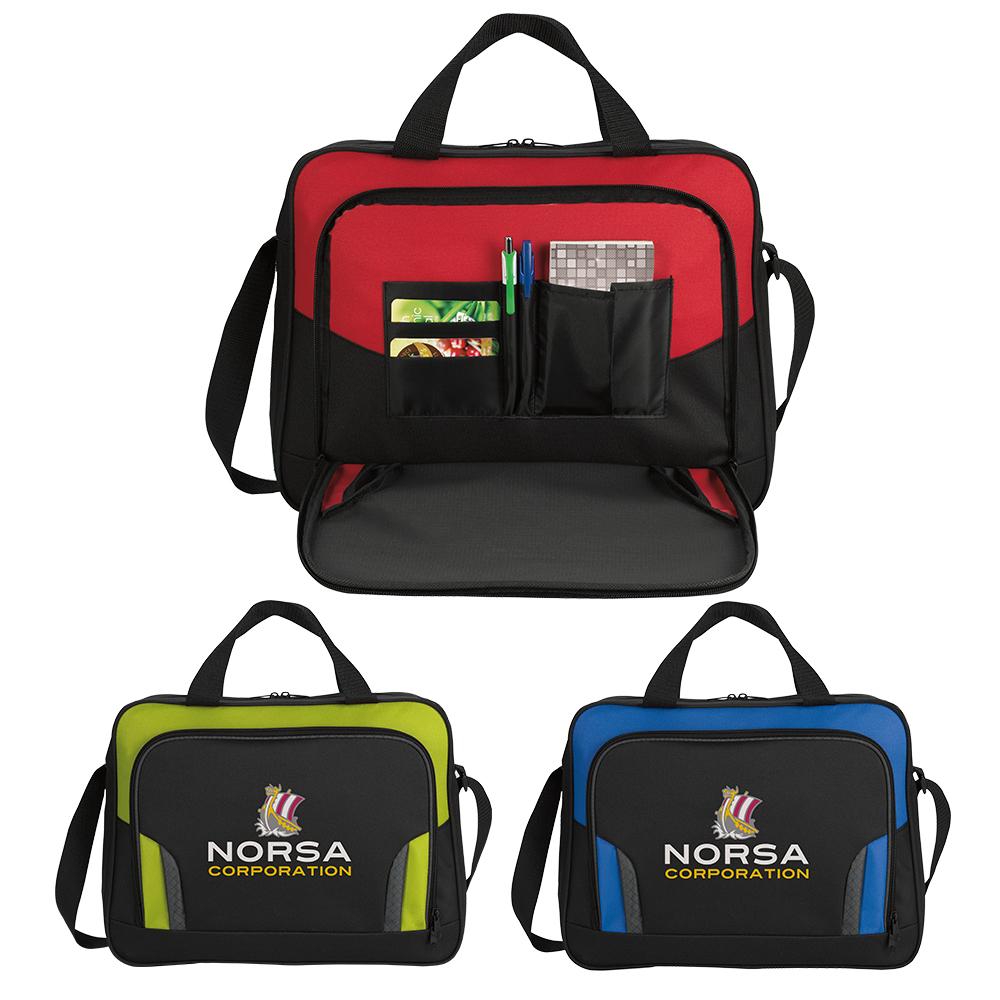 Good Value® 15834 Colorblock Briefcase