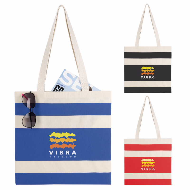 Good Value® 15842 Simply Striped Tote